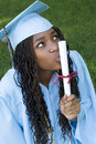Girl Graduate Royalty Free Stock Photo