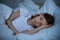 Girl Having Sleeplessness Night Royalty Free Stock Photo