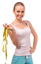 Girl health and fitness Royalty Free Stock Photo