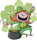 Girl Leprechaun Royalty Free Stock Photography