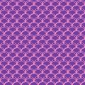 Girl mermaid seamless pattern