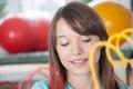 Girl in rehabilitation Royalty Free Stock Photo