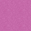 Girl`s pink seamless background