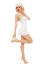 Girl sailor Royalty Free Stock Photo