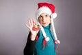 Girl Santa Claus