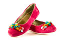 Girl Shoes Footwear Isolated O...