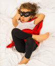 The girl super hero