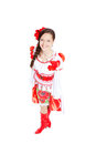 Girl in traditional clothes Royalty Free Stock Photo