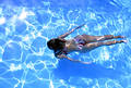 Girl Underwater 2 Stock Images