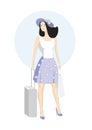 Girl voyager