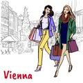 Girlfriends in Vienna