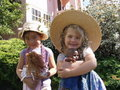 Girls dressed up Royalty Free Stock Image