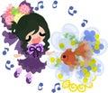 Girls and goldfish bowls