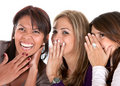 Girls gossiping Royalty Free Stock Images