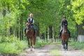 Girls On Horseback Riding
