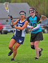 Girls Lacrosse 02 Royalty Free Stock Image