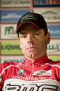 Giro d'Italia: Cadel Evans Press Conference Stock Images