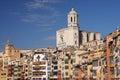 Girona church Royalty Free Stock Photo