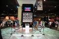 Gitex Shopper 2008 - Toshiba Presentation Stage Royalty Free Stock Photo