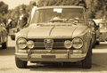 Giulia super vintage photo of an old alfa romeo Stock Photos
