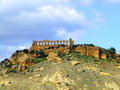 Giunone Temple in agrigento Stock Image