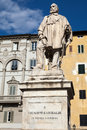 Giuseppe Garibaldi Monument in Lucca Royalty Free Stock Images
