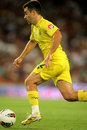 Giuseppe Rossi of Villarreal CF Stock Images