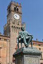 Giuseppe Verdi Square Royalty Free Stock Photo
