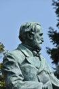Giuseppe Verdi Statue Royalty Free Stock Photo
