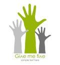 Give me five symbol