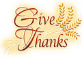 Give Thanks Royalty Free Stock Photo