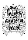 Give thanks with grateful heart