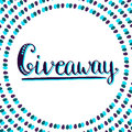 Giveaway icon for social media contests. Vector Royalty Free Stock Photo