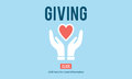 Giving Give Help Aid Support Charity Please Concept Royalty Free Stock Photo