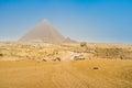Giza Necropolis Royalty Free Stock Photo
