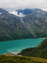 Gjende lake scenics, Norway Royalty Free Stock Image