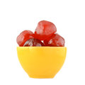 Glace cherries Royalty Free Stock Image