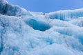 Glacial Blue Ice Royalty Free Stock Photos