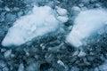 Glacial Ice Royalty Free Stock Photo