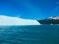 Glacial ice wall Royalty Free Stock Photo