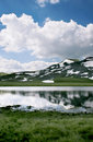 Glacial lake in Macedonia Royalty Free Stock Photography