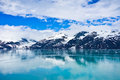 Glacier bay in alaska united states mountains Stock Photography