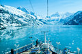 Glacier Bay National Park in Alaska Royalty Free Stock Photo