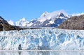 Glacier bay in a sunny day Royalty Free Stock Photo