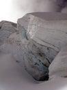 Glacier blue white glaciers in the alps Royalty Free Stock Photos