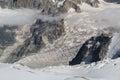 Glacier du Dent Royalty Free Stock Photo