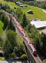 Glacier express panorama train Royalty Free Stock Photography