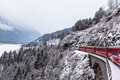 Glacier express, Switzerland Royalty Free Stock Photo