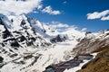 Glacier of Hohe Tauern National Park Austria Royalty Free Stock Photo
