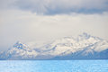 Glacier on Lago Argentino,Argentina Royalty Free Stock Photography